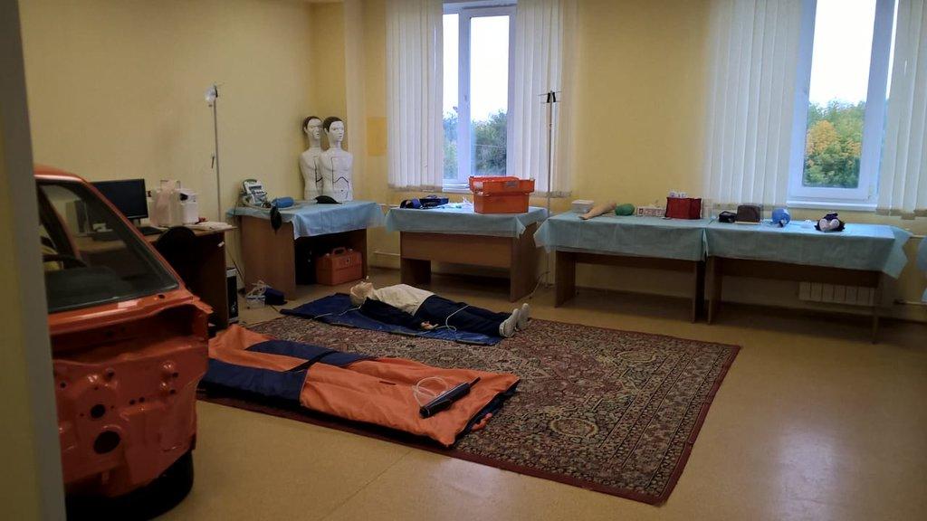 Главная подстанция г. Кемерово. Учебная комната.